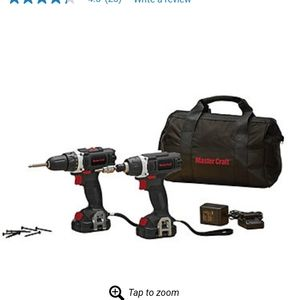 Mastercraft 12V Lithium-Ion Drill / Impact Driver